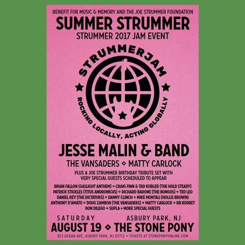 Summer StrummerJam 2017_Stone Pony_Asbury Park NJ