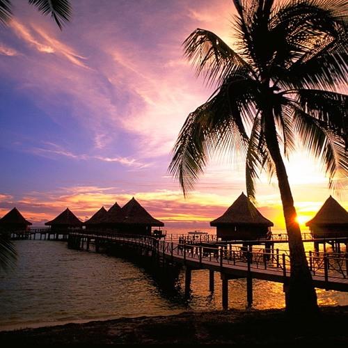 Thumbnail Rangiroa Sunset