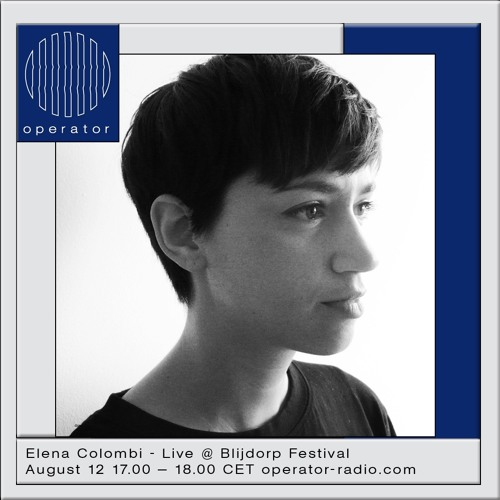 Elena Colombi - Live @ Blijdorp Festival 2017 - 12th August 2017