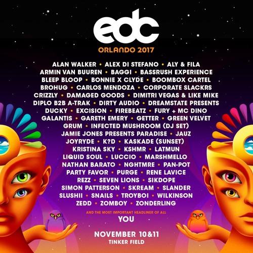 EDC Orlando 2017 by Insomniac Events | Free Listening on