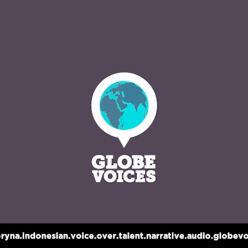 Indonesian voice over talent, artist, actor 11000 Coryna - narrative on globevoices.com