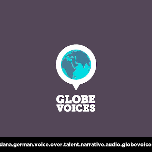 German voice over talent, artist, actor 1100 Dana - narrative on globevoices.com