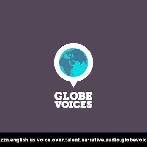 English (American) voice over talent, artist, actor 749 Bazza - narrative on globevoices.com