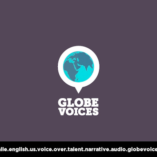 English (American) voice over talent, artist, actor 612 Calie - narrative on globevoices.com