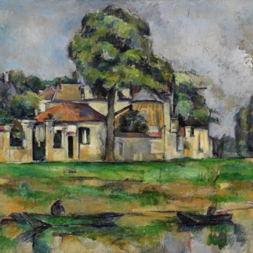 Art & Philosophy Symposium: Paul Guyer on Paul Cézanne's 'Banks of the Marne' (c1888)