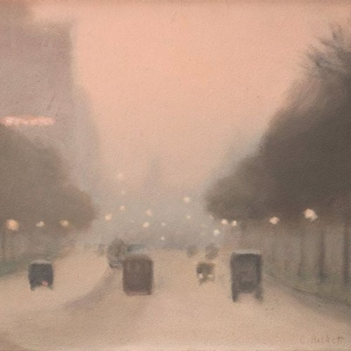 Art & Philosophy Symposium: Cynthia Freeland on Clarice Beckett's 'Evening, St Kilda Road' (c1930)