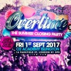 OVERTIME- THE CLOSING PARTY MIX CD MIXED BY BILLGATES & DJ SCYTHER