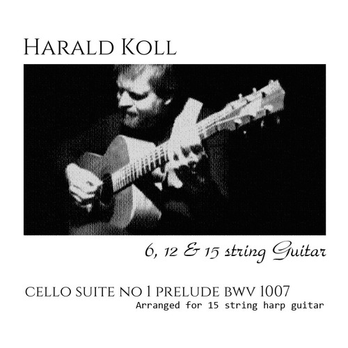 Bach Prelude BWV 1007 by Harald Koll 1   Free Listening on