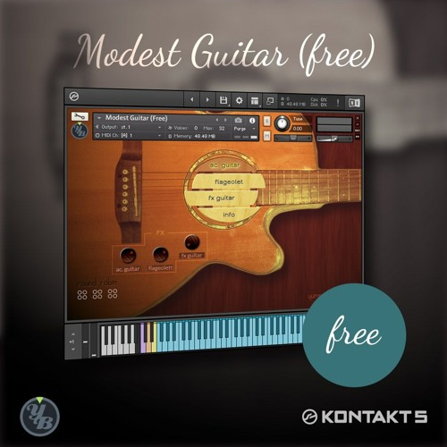 Modest Guitar Free - Peaceful Firmament (by pogonia)