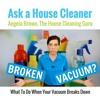 Broken Vacuum - What Should I Do?
