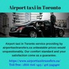 Airport taxi in Toronto - Book now for get offers