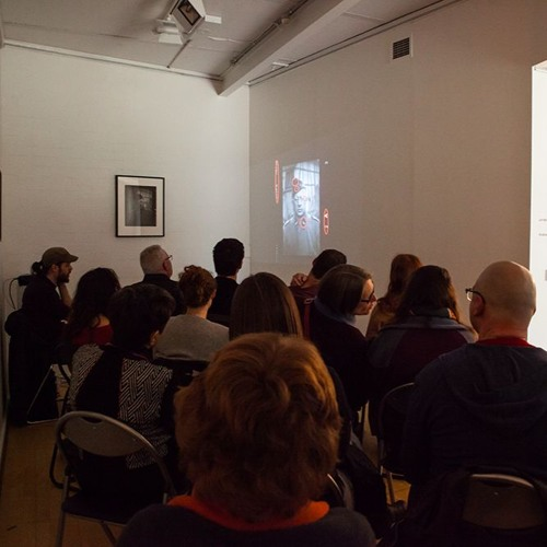 Andrew Tenison Artist Talk for 'Let Me Imagine You' at PhotoAccess
