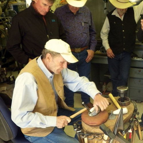 Self-taught silversmiths learn from masters at workshop