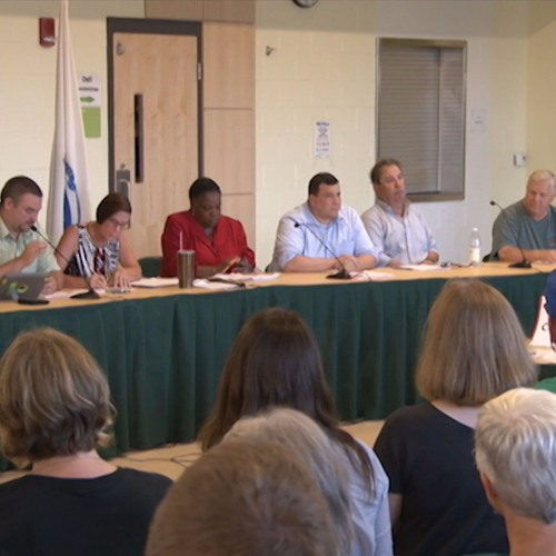 Greenfield Town Council Meeting August 16, 2017