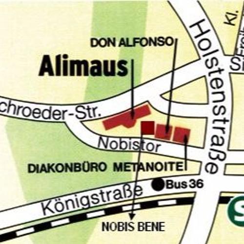 Herzlich willkommen mit Blumen: Die Alimaus auf St. Pauli