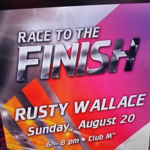 Rusty Wallace at Mystic Lake