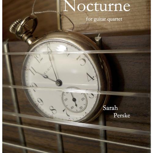 Nocturne for guitar quartet