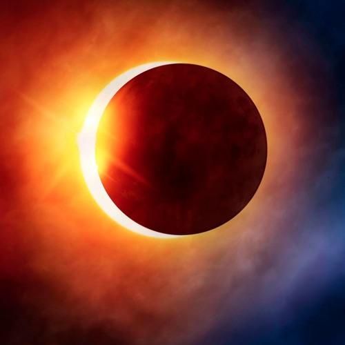 La energía del eclipse de Sol.
