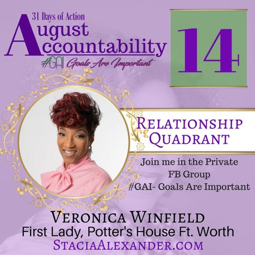 August Accountability 2017 Veronica Winfield First Lady Of Potters House Ft. Worth (2)