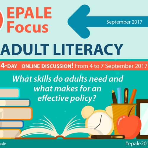EPALE Podcast August 2017: Adult literacy skills in 2017