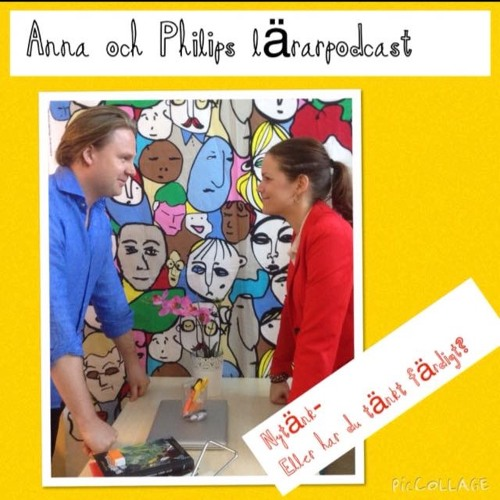 Avsnitt 122 med läraren och poddaren Anna Sterlinger.