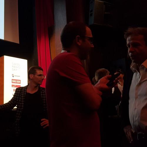 #GillesMarchand erster öffentlicher auftritt als generaldirektor SRG (Gilles Marchand)