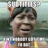 No Subtitles