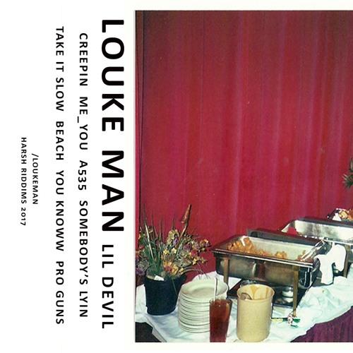 Louke Man - Lil Devil [Cassette] (Harsh Riddims)