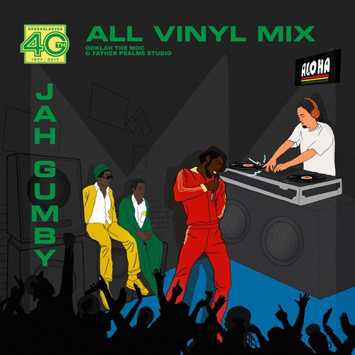 Greensleeves 40th Anniversary | All Vinyl Mix | Jah Gumby