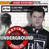 MATINEE UNDERGROUND 2017 Promo by ARNALDO NOVAIS