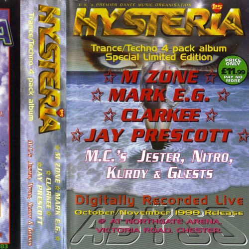JAY PRESCOTT---HYSTERIA VOLUME 25 - ABYSS 1999 by magpie303