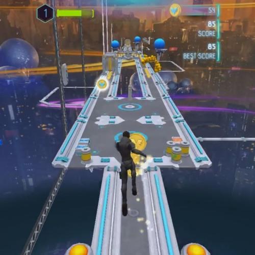 Valerian Space Run - Gameplay