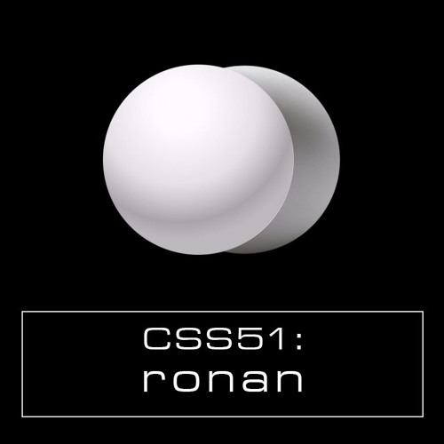 Cultivated Sound Sessions - CSS051: Ronan