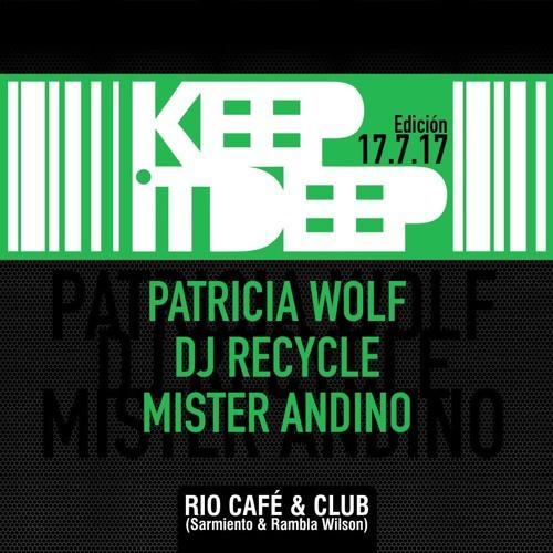 AlyCat Series #62 - Edicion 17.7.17 Keep It Deep Mix - Live Recorded @ RIO Club DJ RECYCLE