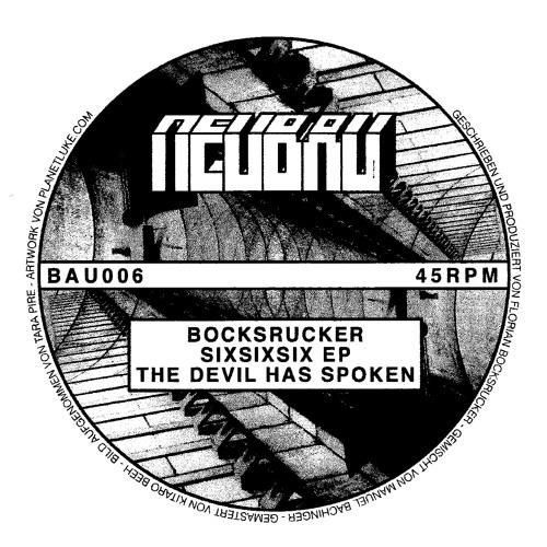 Bocksrucker - SixSixSix EP - BAU006