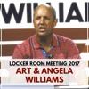 Art & Angela Williams - Locker Room Event 2017