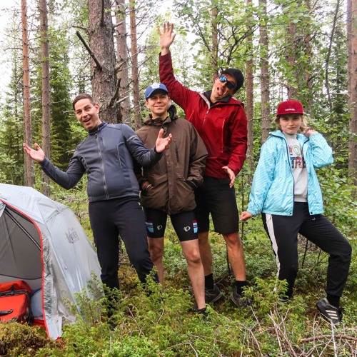 Our Wild & Crazy Group Bicycle Tour From Umeå to Luleå in Northern Sweden