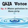 water pollution in Gaza strip