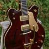 1967 Gretsch 6122 Country Gentleman hollowbody electric guitar