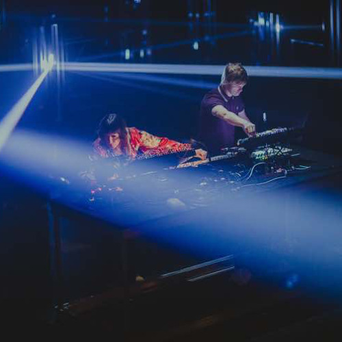 Surgeon & Lady Starlight live at Mutek, Montreal 25th August 2017