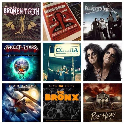 Ep 91: Ripe Rock Vol. 7 - Alice Cooper, The Bronx, Sweet & Lynch + more