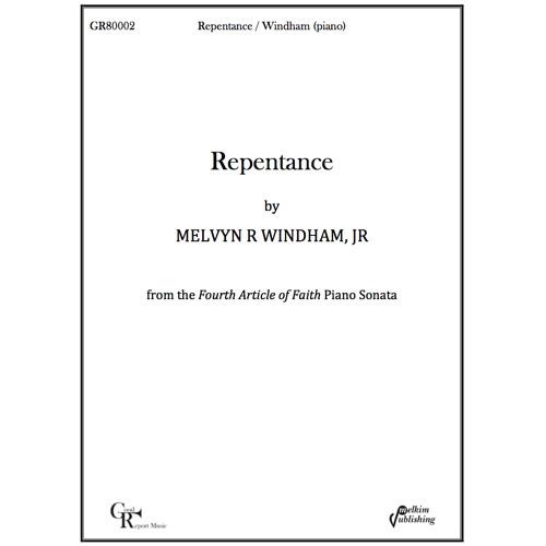 Repentance -- Piano Solo / Windham