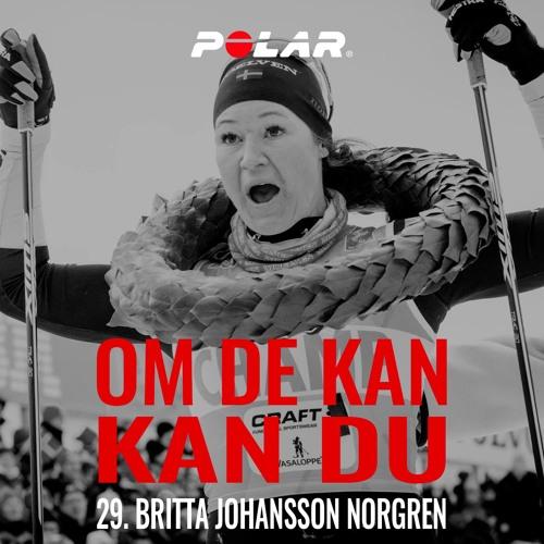 29. Britta Johansson Norgren, Längdskidor