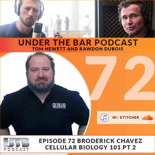 (WARNING EXPLICIT)The Evil Genius - Broderick Chavez on Ep. 72 of Under The Bar