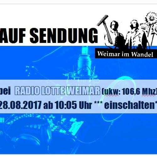 17 - 08 - 28 Weiamr Im Wandel Auf Radio Lotte