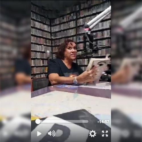 interivew part 1 and poetry readings with Janet Kuypers on WZRD 88.3 FM Chicago Radio 8/26/17