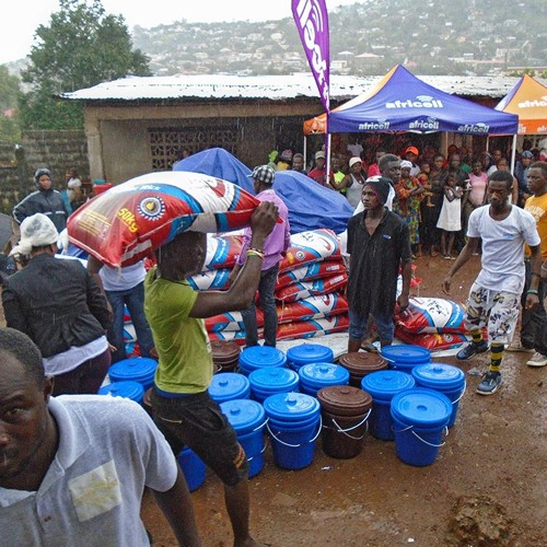 """""""People are homeless, people are confused...they need help"""" - Sierra Leone mudslide"""