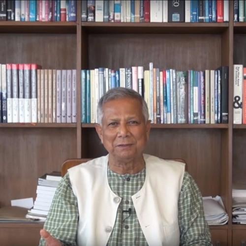 """""""Everyone is born an entrepreneur."""" M. Yunus, Grameen Bank, Nobel laureate"""