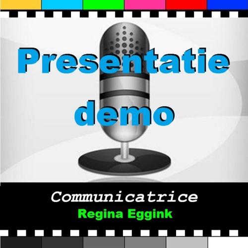 Demo Presentatie Regina Eggink