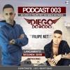 PODCAST DJ DIEGO 003 AO VIVO NO RODO ( FELIPE RET )
